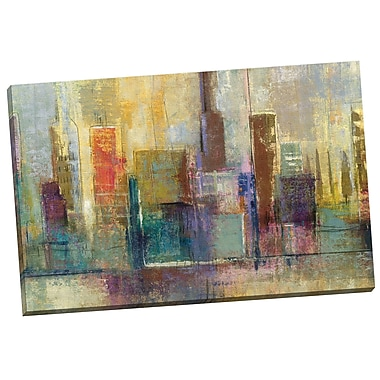 Portfolio Canvas Forty Second Avenue by Giovanni Painting Print on Wrapped Canvas