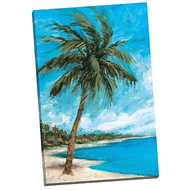 Portfolio Canvas Paradise Palms by Michael Saunders Painting Print on Wrapped Canvas