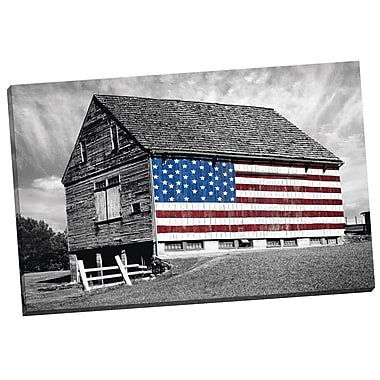 Portfolio Canvas Flags of the Farmers 3 by James McLoughlin Photographic Print on Wrapped Canvas