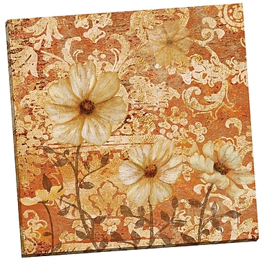 Portfolio Canvas Broccato 1 Gold by Lisa Ven Vertloh Painting Print on Wrapped Canvas