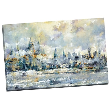 Portfolio Canvas City Rising by Carney Painting Print on Wrapped Canvas