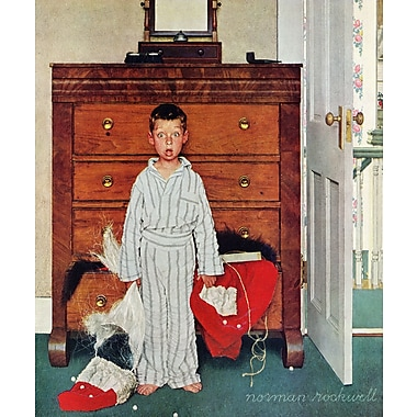 Marmont HIll 'Discovery' by Norman Rockwell Painting Print on Wrapped Canvas; 29'' H x 24'' W