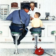Marmont HIll 'Runaway' by Norman Rockwell Painting Print on Wrapped Canvas; 24'' H x 24' W