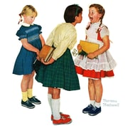 Marmont HIll 'Missing Tooth' by Norman Rockwell Painting Print on Wrapped Canvas; 48'' H x 48'' W