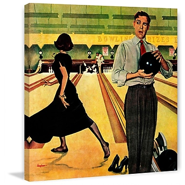 Marmont HIll Bowling Strike by George Hughes Painting Print on Wrapped Canvas
