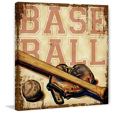 Marmont HIll Baseball by Saturday Evening Post Painting Print on Wrapped Canvas