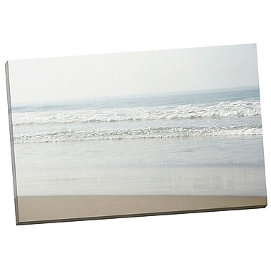 Portfolio Canvas Sunny Waves 3 by Elizabeth Urquhart Photographic Print on Wrapped Canvas
