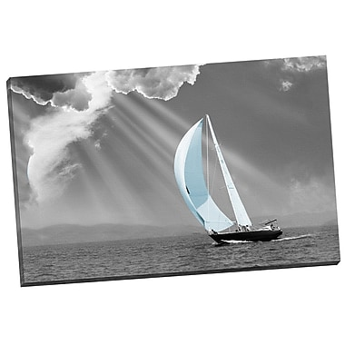 Portfolio Canvas Sunbeam Sail by Monte Nagler Photographic Print on Wrapped Canvas