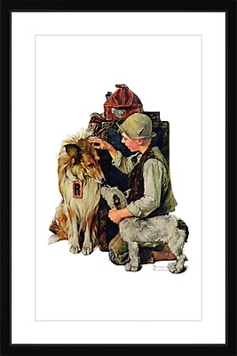 Marmont HIll 'Raleigh Rockwell' by Norman Rockwell Framed Painting Print; 36'' H x 24'' W