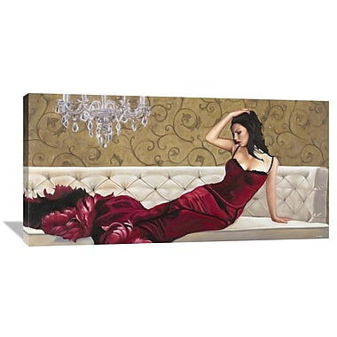Global Gallery Velvet by Pierre Benson Painting Print on Wrapped Canvas; 24'' H x 48'' W x 1.5'' D