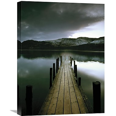 Global Gallery Silent Dock by Andy Kerry Photographic Print on Wrapped Canvas