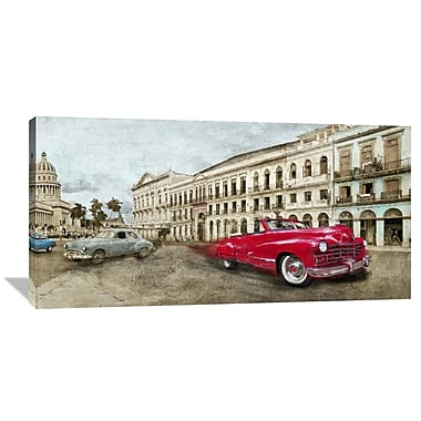 Global Gallery Habanera by Ivan Baldo Painting Print on Wrapped Canvas; 24'' H x 48'' W x 1.5'' D