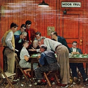 Marmont HIll 'Jury' by Norman Rockwell Painting Print on Wrapped Canvas; 32'' H x 32'' W