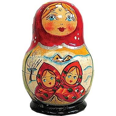 G Debrekht Russian 5 Piece Fairy Tale Nested Doll Set