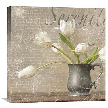 Global Gallery Dutch Tulips I by Gaetano Graphic Art on Wrapped Canvas; 24'' H x 24'' W x 1.5'' D