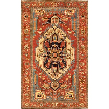 Pasargad Hand-Knotted Lamb's Wool Area Rug