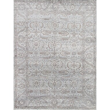 Pasargad Hand-Knotted Bamboo Silk Area Rug; 9' x 12'