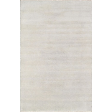 Pasargad Hand-Knotted Wool Ivory Area Rug; 9' x 12'
