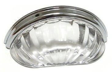 Richelieu 3'' Center Cup/Bin Pull; Chrome WYF078278019883