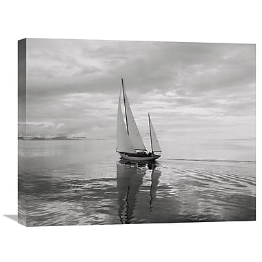 Global Gallery Soft Breeze by Ray Krantz Photographic Print on Wrapped Canvas
