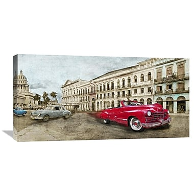 Global Gallery Habanera by Ivan Baldo Painting Print on Wrapped Canvas; 18'' H x 36'' W x 1.5'' D