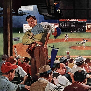 Marmont HIll Sleepy Inning by Earl Mayan Painting Print on Wrapped Canvas; 40'' H x 40'' W x 1.5'' D