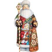 G Debrekht Masterpiece Signature Give A Gift Santa Figurine