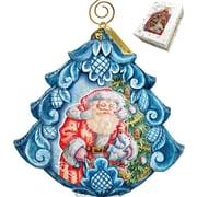 G Debrekht Derevo Gift Giving Pleasure Scenic Ornament