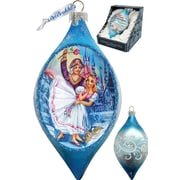 G Debrekht Holiday Nutcracker Glass Ornament Drop