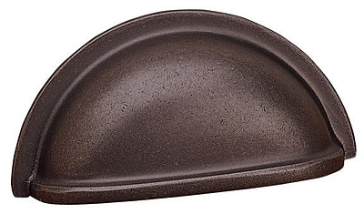 Richelieu 3'' Center Cup/Bin Pull; Oil-Rubbed Bronze WYF078278020269