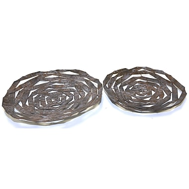 Firefly Home Collection 2 Piece Spiral Tray