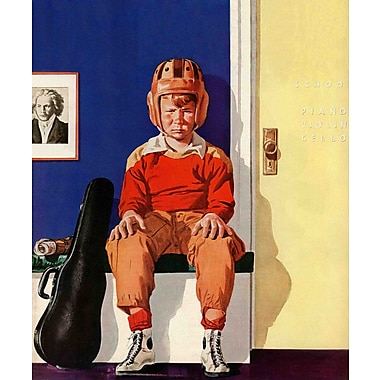 Marmont HIll Musical Sport by Lonie Bee Painting Print on Wrapped Canvas; 29'' H x 24'' W x 1.5'' D