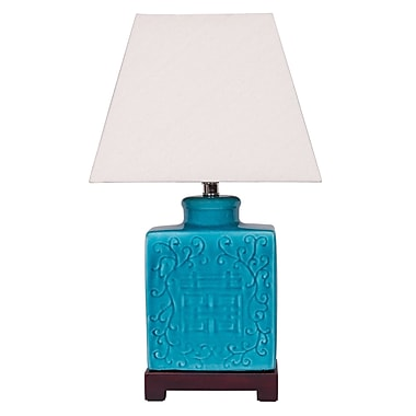 Winward Designs Ginger Jar 21 H Table Lamp with Drum Shade