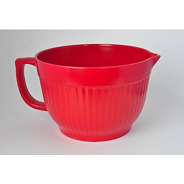 Yumi Eco Solutions Eco Bamboo Mixing/Batter Bowl; Red