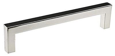 Richelieu 5 1/32'' Center Bar Pull; Nickel