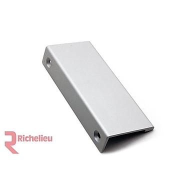 Richelieu 3 5/32'' Center Finger Pull; Aluminum