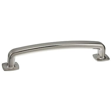 Richelieu 5'' Center Bar Pull; Brushed Nickel