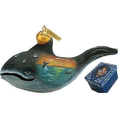 G Debrekht Derevo Whale Figurine Ornament