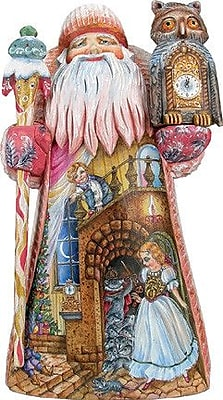 G Debrekht Masterpiece Signature to The Rescue Santa Figurine WYF078278014071