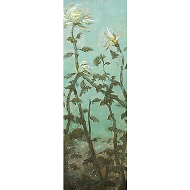 Portfolio Canvas Garden Panel 1 by Elinor Luna Painting Print on Wrapped Canvas