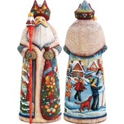 G Debrekht Masterpiece Signature Holiday Wonders Santa Figurine