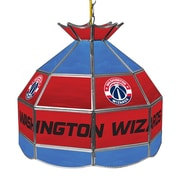 "Trademark Global® 16"" Tiffany Lamp, Washington Wizards NBA"