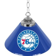 "Trademark NBA 14"" Single Shade Gameroom Lamp, Philadelphia 76ers"