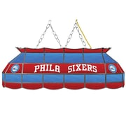"Trademark Global® 40"" Tiffany Lamp, Philadelphia 76ers NBA"