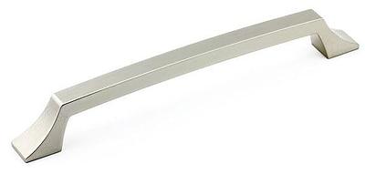 Richelieu 7 3/5'' Center Bar Pull; Nickel