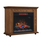 Duraflame Rolling Mantel Electric Fireplace