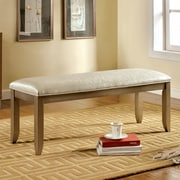 Hokku Designs Jemmy Upholstered Bench