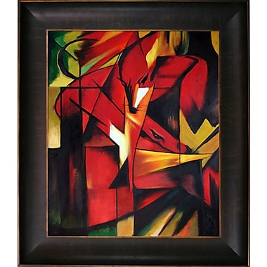 Tori Home Marc The Fox Framed Painting
