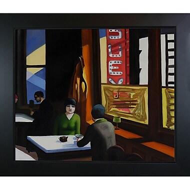 Tori Home Chop Suey by Edward Hopper Framed Painting Print