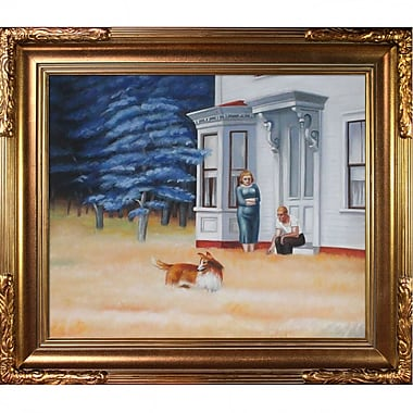 Tori Home Cape Cod Evening by Edward Hopper Framed Painting Print
